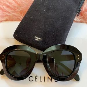 Celine Accessories - Celine Black Lola Sunglasses